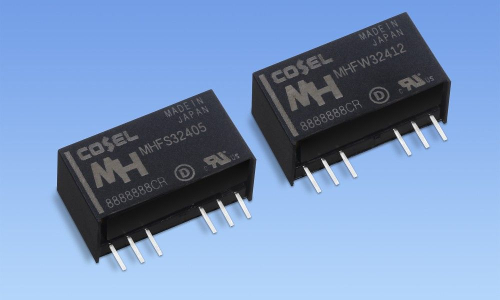 Cosel Announces 3w High Isolation Dc Dc Converters For Medical And Industrial Applications In 2020 Dc Dc Converter Electronics Components Transformers Design