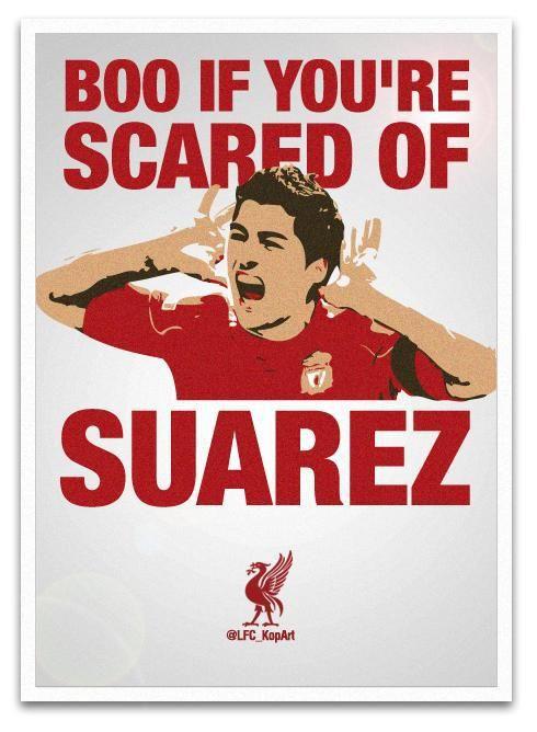 Luis Suarez!