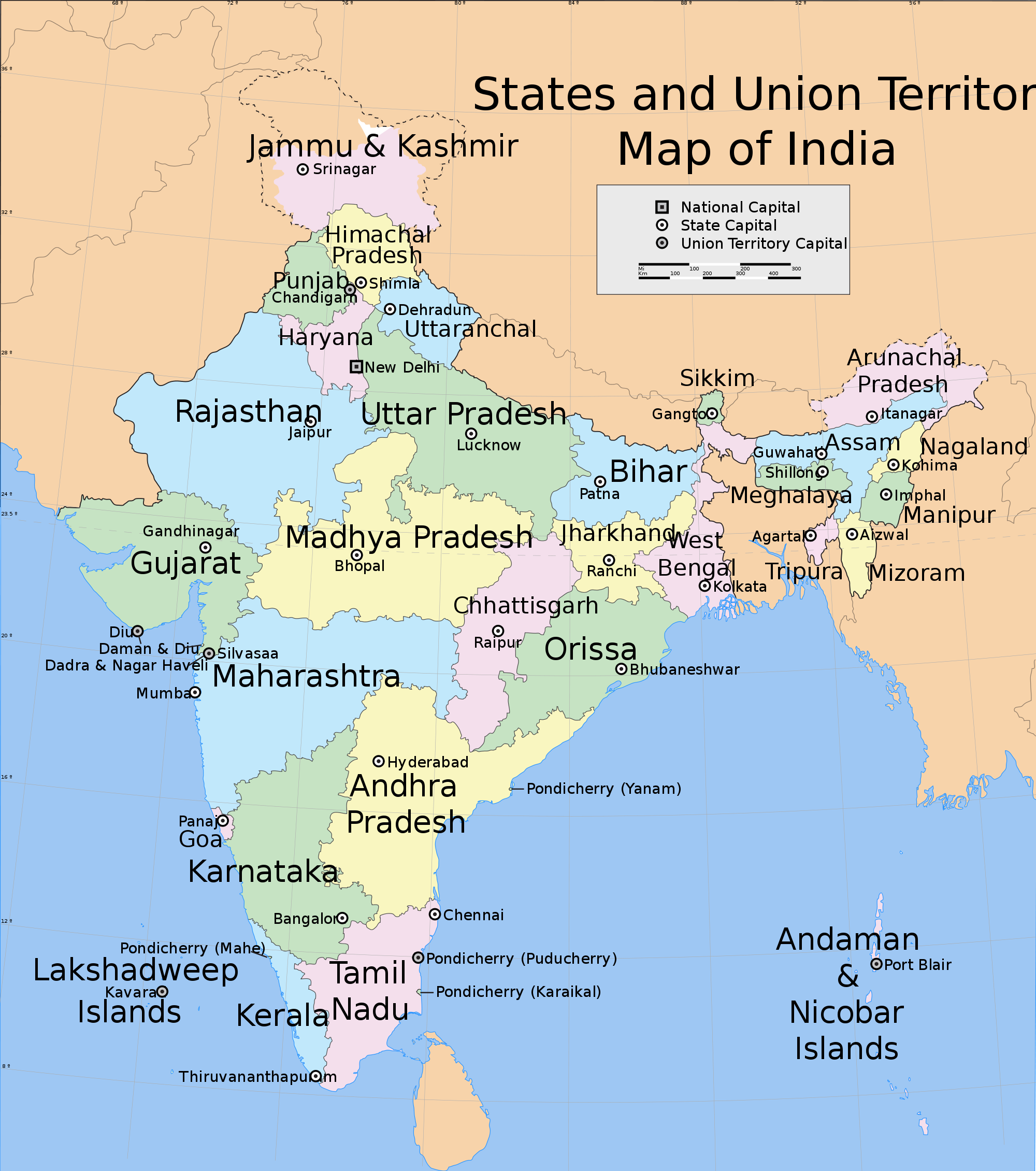 India states and union territories map | States, capitals ... on malaysia map, spain map, croatia map, arabian sea map, czech republic map, africa map, norway map, europe map, indian subcontinent map, china map, texas map, new zealand map, korea map, canada map, cuba map, maharashtra map, california map, portugal map, australia map, andhra pradesh map, cyprus map, argentina map, ireland map, germany map, time zone map, egypt map, karnataka map, iceland map, poland map, brazil map, japan map, italy map, sri lanka map, russia map, greece map, thailand map, france map,
