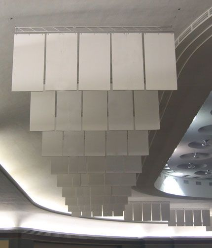 Acoustical Surfaces Inc Echoeliminator Hanging Baffles Acoustic Baffles Sound Baffles Sound Panel