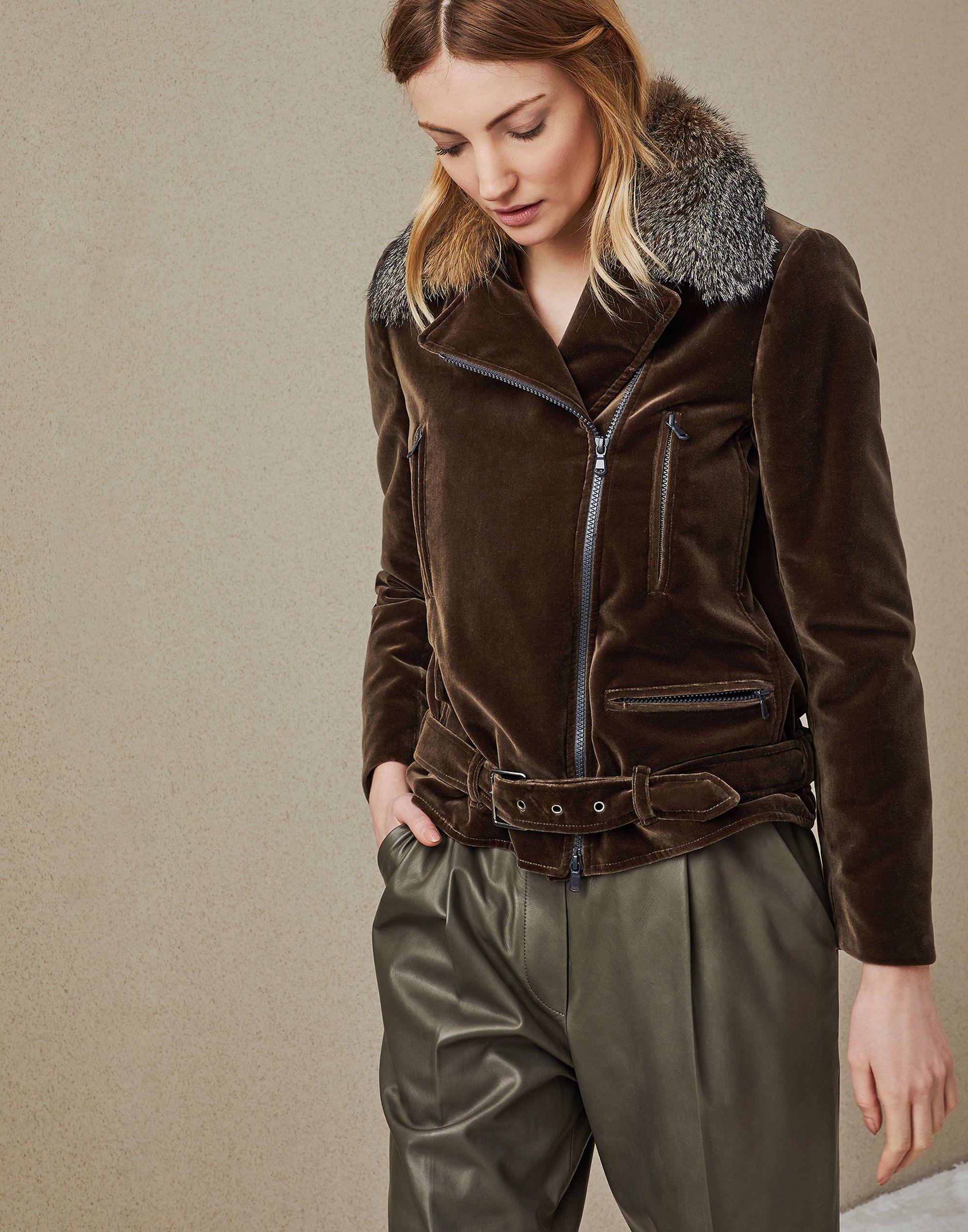 Outerwear Jacket Military Woman 1 Brunello Cucinelli Outerwear Jackets Clothes Velvet Suits [ 2546 x 2000 Pixel ]