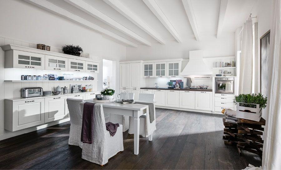 100 idee cucine moderne in legno • bianche, nere, colorate …. 30 Idee Per Colori Di Pareti Di Una Cucina Classica Mondodesign It Nel 2020 Arredo Interni Cucina Interni Della Cucina Disegno Del Pavimento