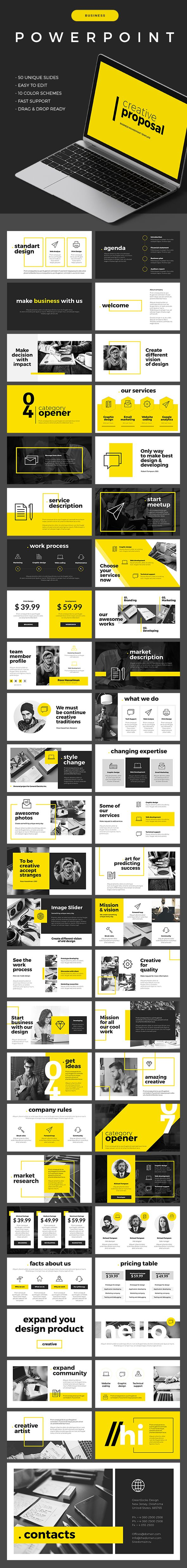 business powerpoint template | business powerpoint templates, Powerpoint templates