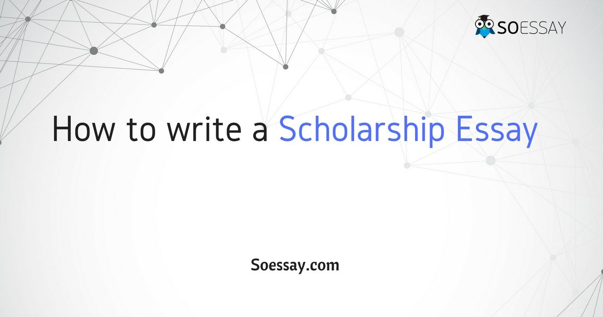 An Appealing Scholarship Essay Should Be Convincing Persuasive