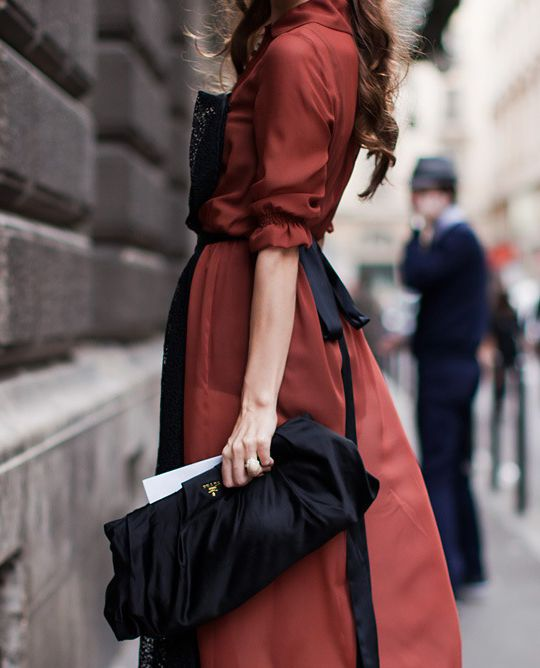 I'd like to be wearing something like this when we go to Paris in the fall.