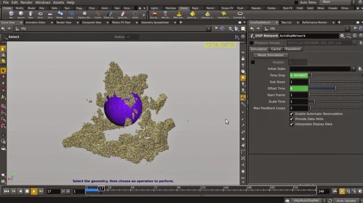 Creating Wet Sand simulation in Houdini   CG Tutorials library