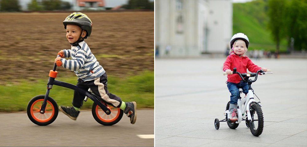 A balance bike is essentially a bike without pedals