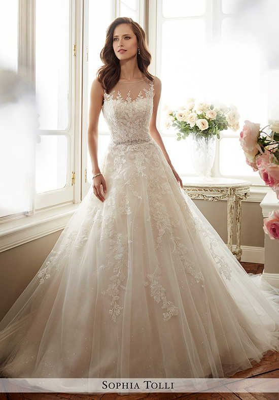 From China Fabric Santa Suppliers Product Details Vestido De Noiva Scoop A Line Vintage Wedding Dress Sequined Tulle Gowns Crystal Waist