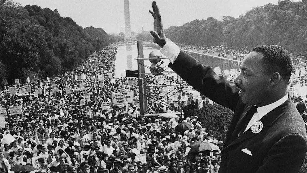 """28 August 1963.... """"I have a dream."""" The famous"""