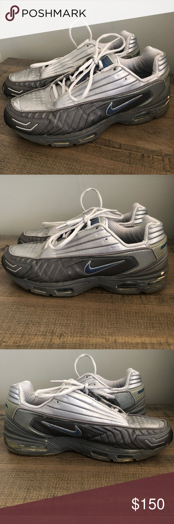 save off 6747b c4187 VTG Nike Air Max Tailwind 2002 shoes, 10 Shoes have some ...