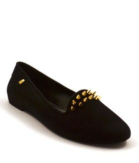 Melissa Virtue III, Edgy and comfy vegan flat loafers with suede detailing