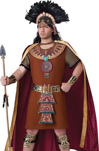 33aa91dc64f Mayan King Adult Aztec South American Halloween Costume in 2019 ...