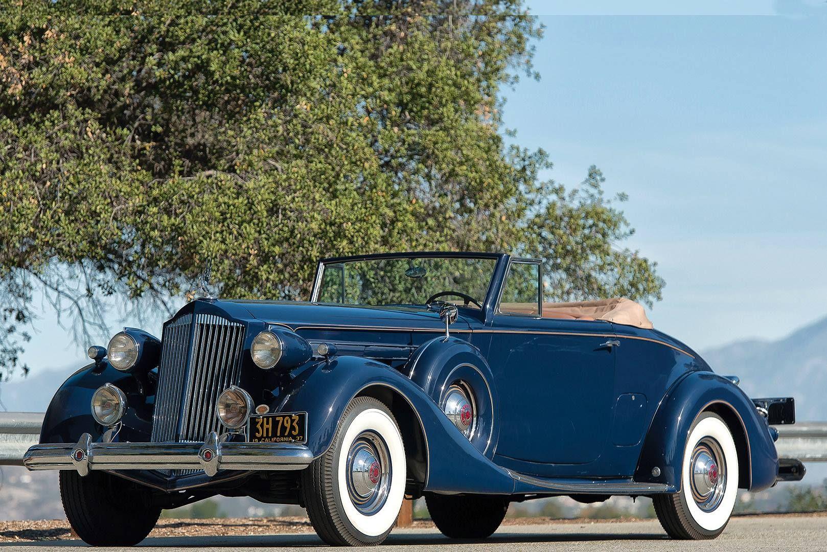 1937 Packard Twelve Coupe Roadster Series 1507 Packard Roadsters Packard Cars
