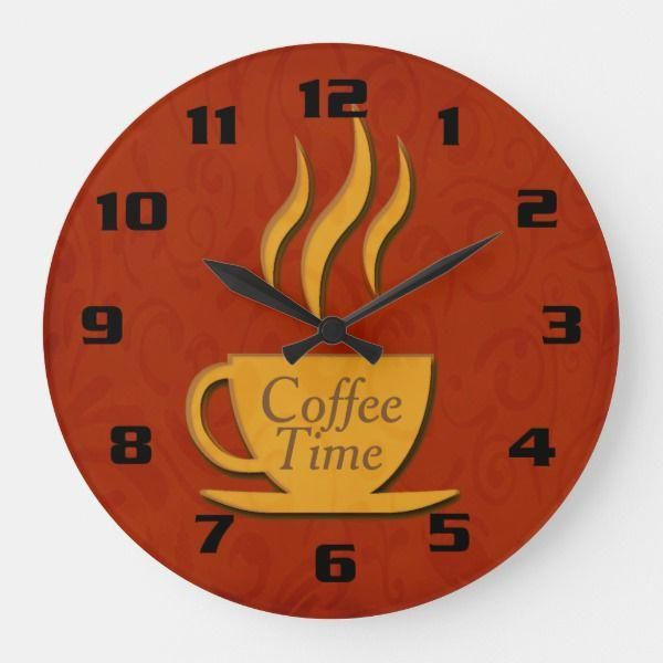 Coffee Time Beautiful Elegant Kitchen Large Clock $33.10 by ... on coffee house kitchen design ideas, kitchen bathroom ideas, kitchen baking station, kitchen couch ideas, martha stewart kitchen ideas, country living 500 kitchen ideas, coffee bar ideas, kitchen wine station, kitchen coffee center ideas, kitchen beverage station, kitchen designs country living, kitchen decor coffee house, kitchen cabinets, great kitchen ideas, kitchen library ideas, kitchen fridge ideas, coffee themed kitchen ideas, coffee break set up ideas, kitchen bookshelf ideas, kitchen buffet ideas,