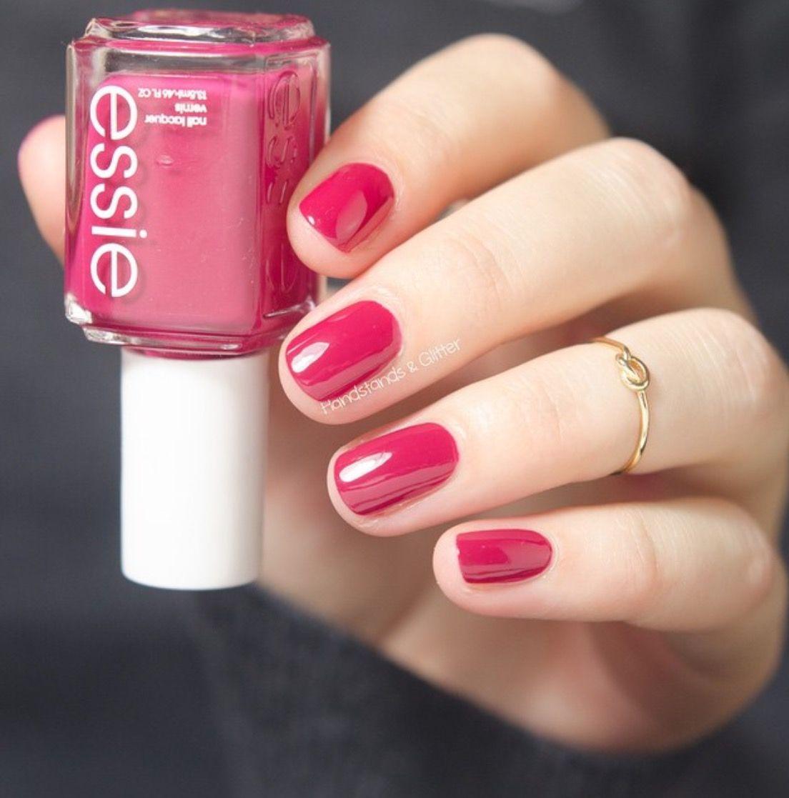 Essie :: plumberry | A good manicure | Pinterest | Hair makeup ...