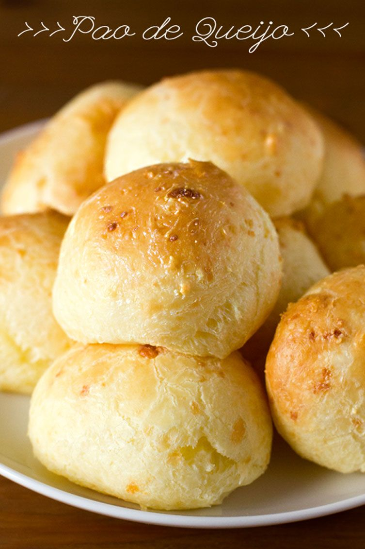 Brazilian Cheese Bread Pao De Queijo Life Made Simple Recipe Brazilian Cheese Bread Food Brazilian Food