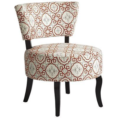 Sabine Chair   Orange Tile