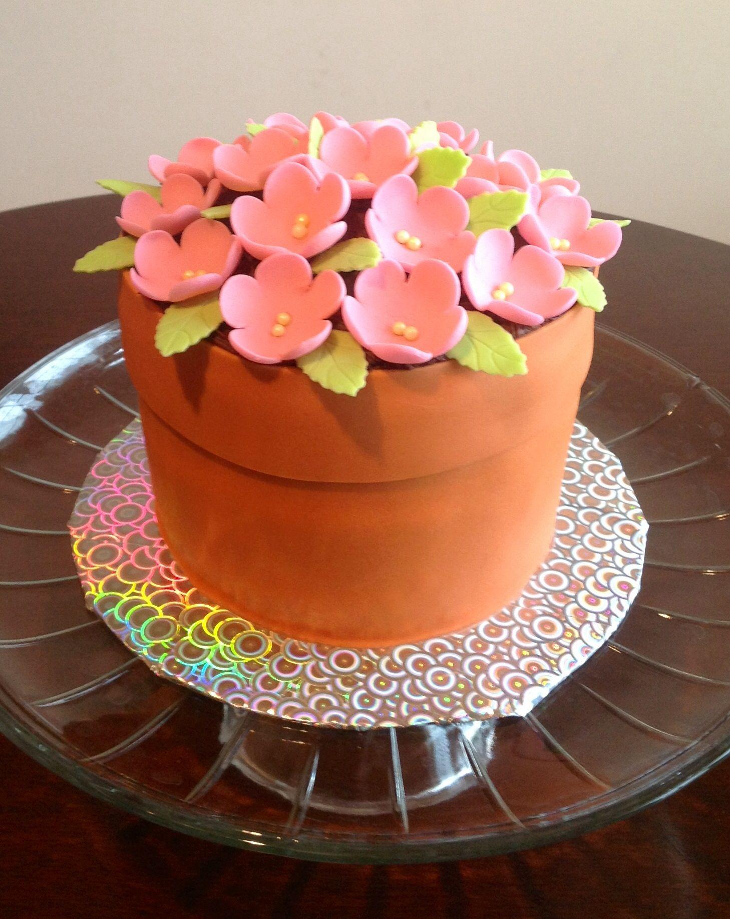 Flower Pot -- Bake A Wish