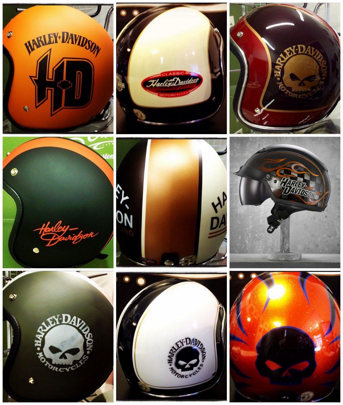 Harley Davidson Motorcycle Helmets For Men And Women In 2017 Harley Helmets Harley Davidson Helmets Motorcycle Helmets
