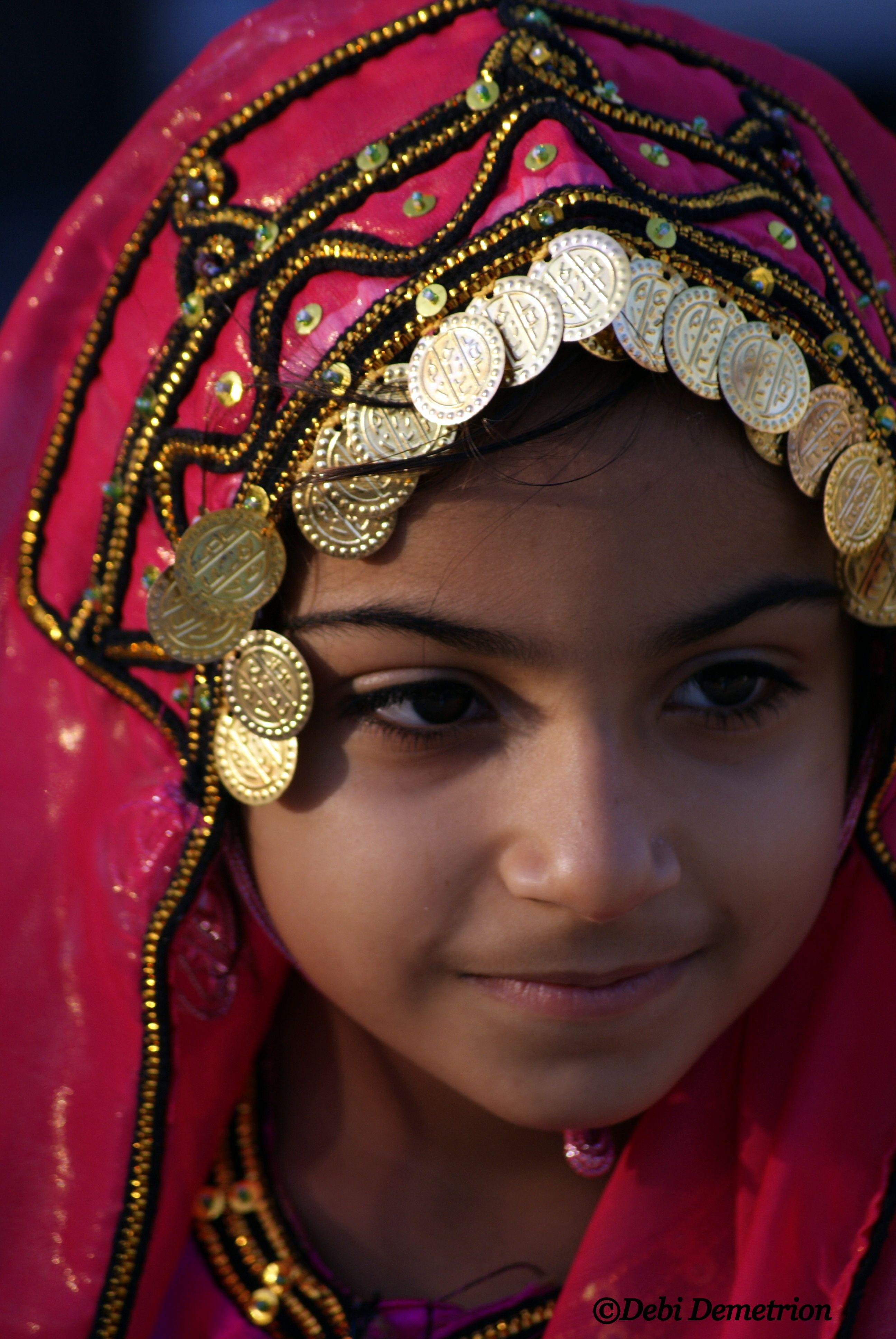 Young Omani Girl Beautiful Children People Of The World Beautiful People