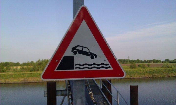Do Not Drive Car Into Canal. Golden gate bridge, Golden
