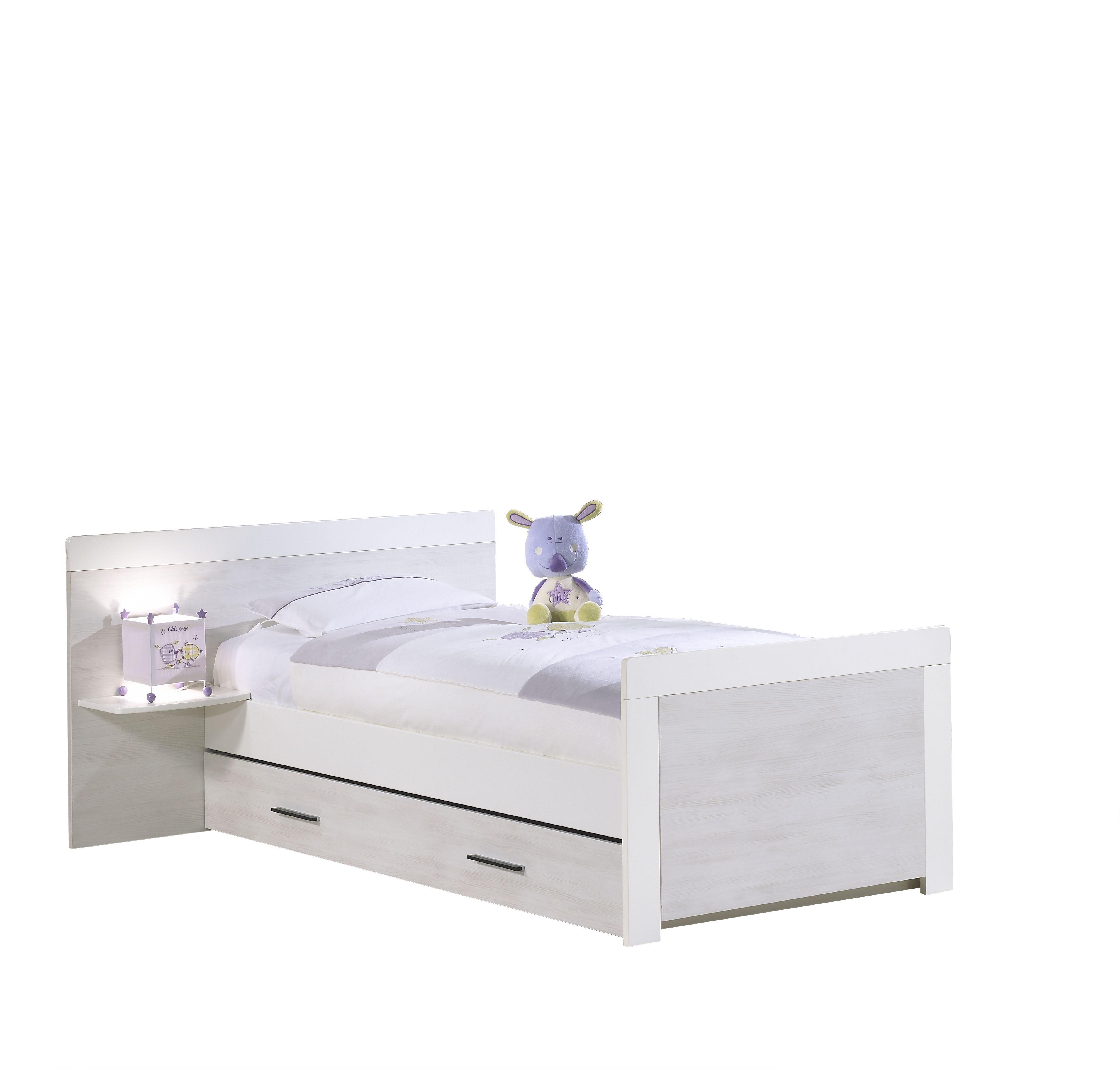Lit Junior 90x190 Avec Chevet Chambre Bebe Zen Lit Simple Idees De Lit