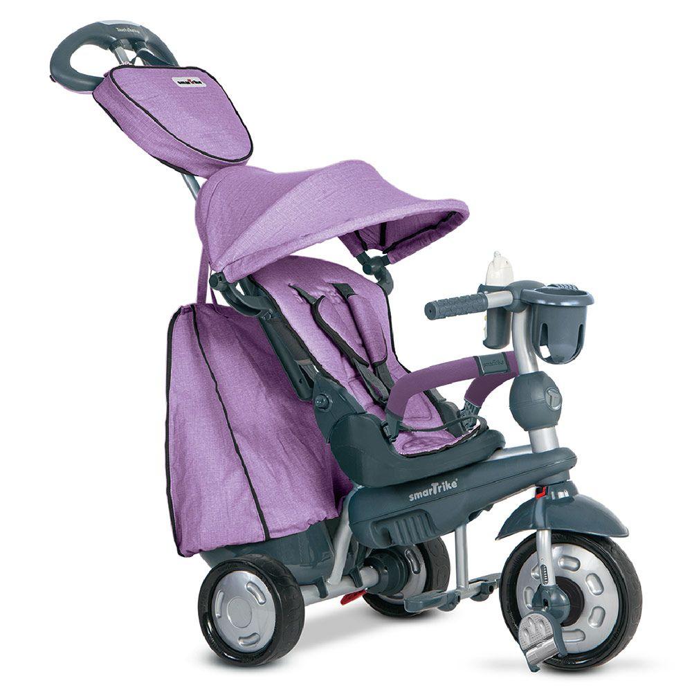 Cooles #Dreirad von SMART TRIKE - #Explorer 5in1 mit Touch Steering Purple | Babyartikel.de