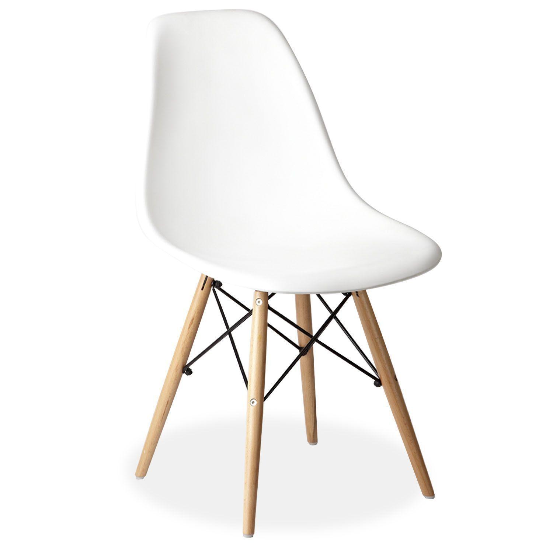 inspirada en la silla dsw de charles ray eames la estructura de las patas - Eames Silla