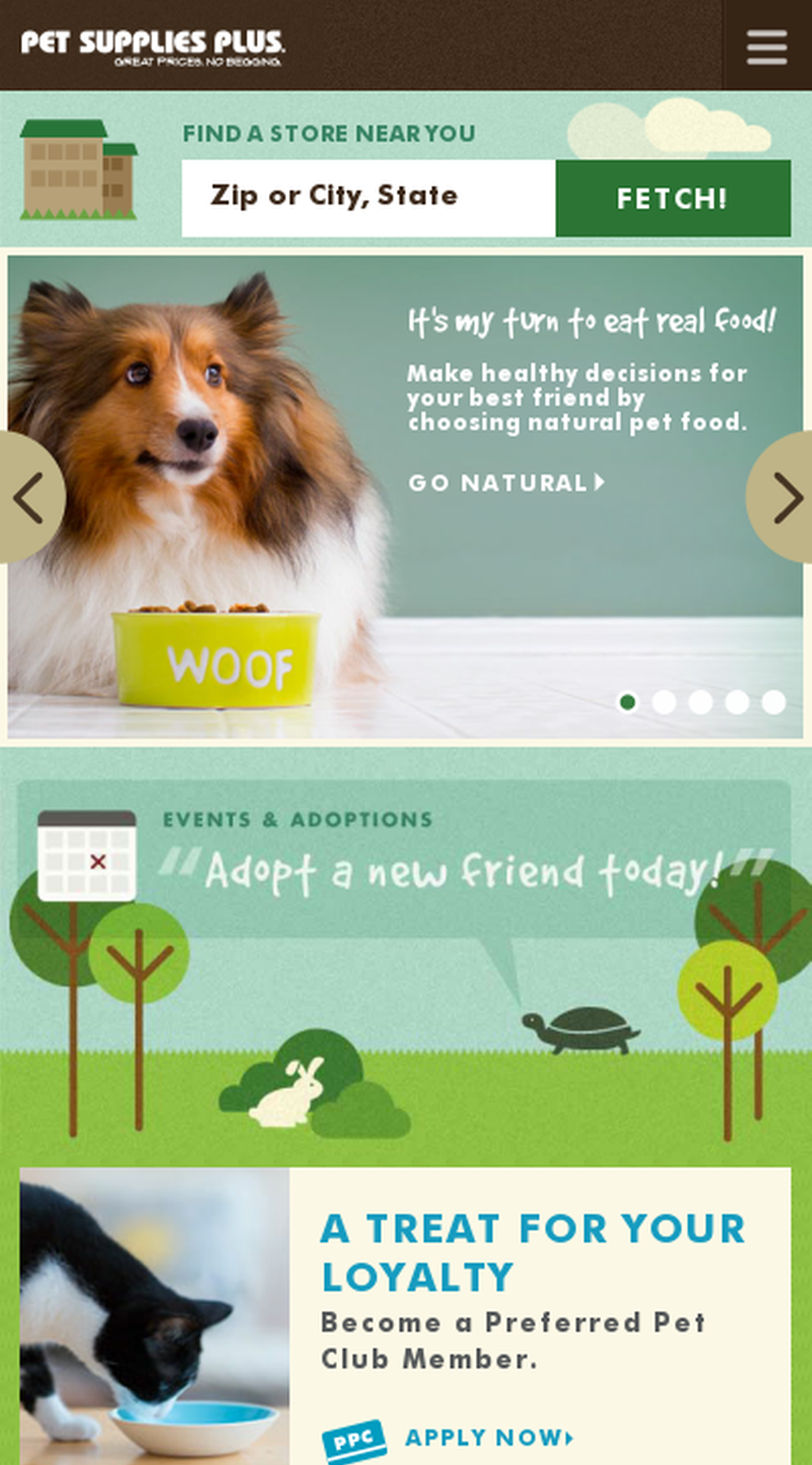 Website Http Www Petsuppliesplus Com Snapped On Snapito