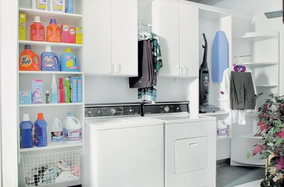 Utility Cabinets Laundry Room With Custom Design For Effectiveness And Tidiness The
