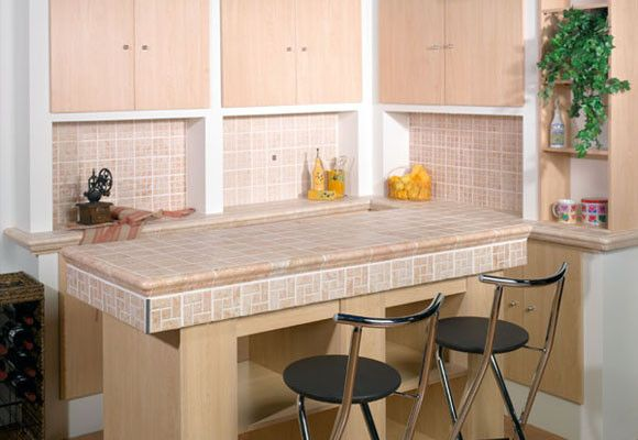 Cer mica en la encimera decoraci n pinterest - Ceramica para cocinas ...