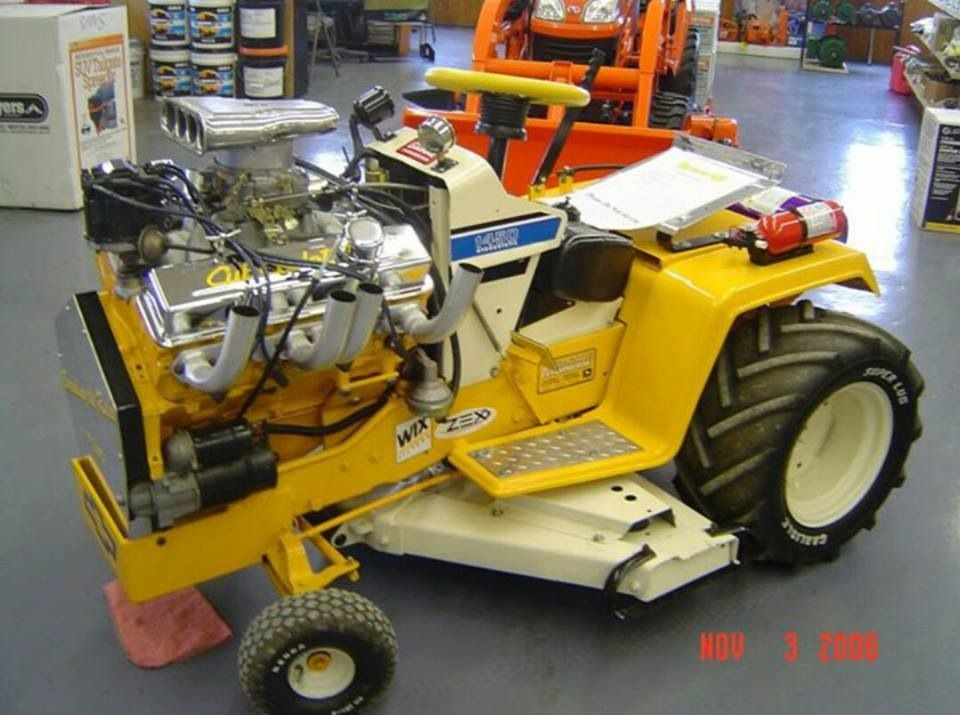 Pin by Small Engine Parts Warehouse on Custom Lawn Mowers | Tractor