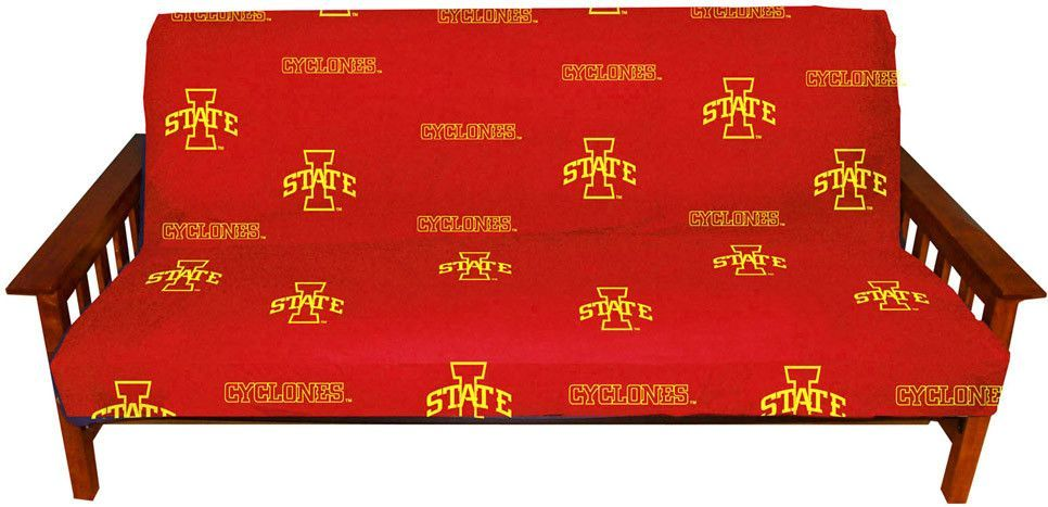 iowa state futon cover   full size fits 8 and 10 inch mats   isufc by iowa state futon cover   full size fits 8 and 10 inch mats   isufc      rh   pinterest