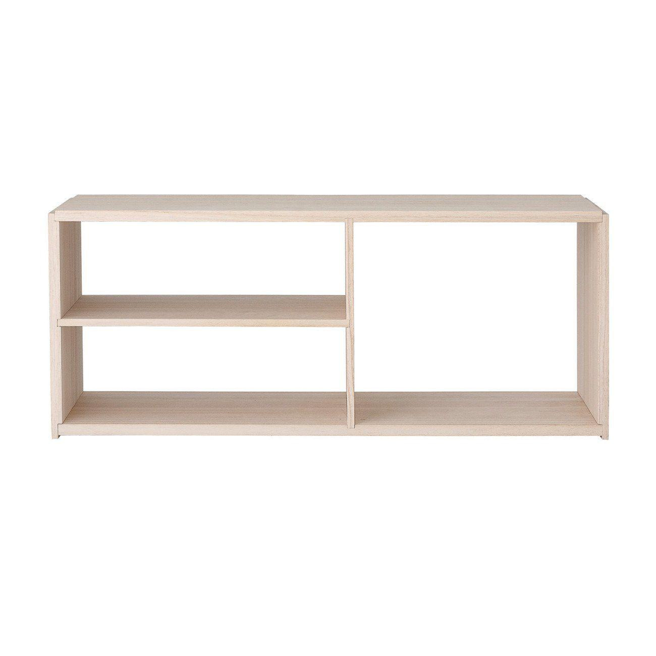 Natural Wood Stacking Shelf