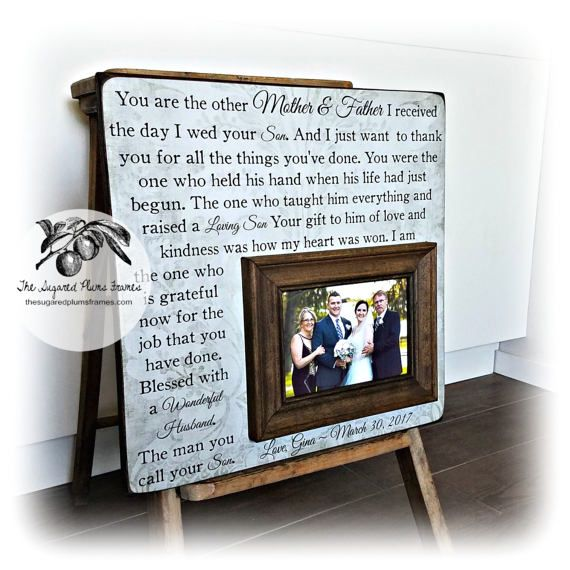 Mother of the Groom Gift, Wedding Gifts For Parents, Parents of the ...