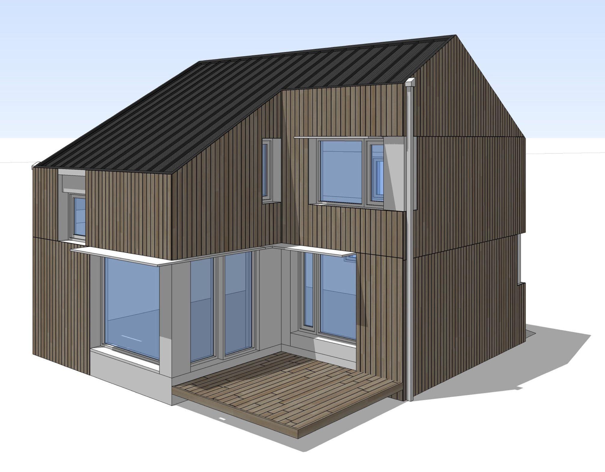 Innovative green building net zero energy zero carbon for Zero footprint homes