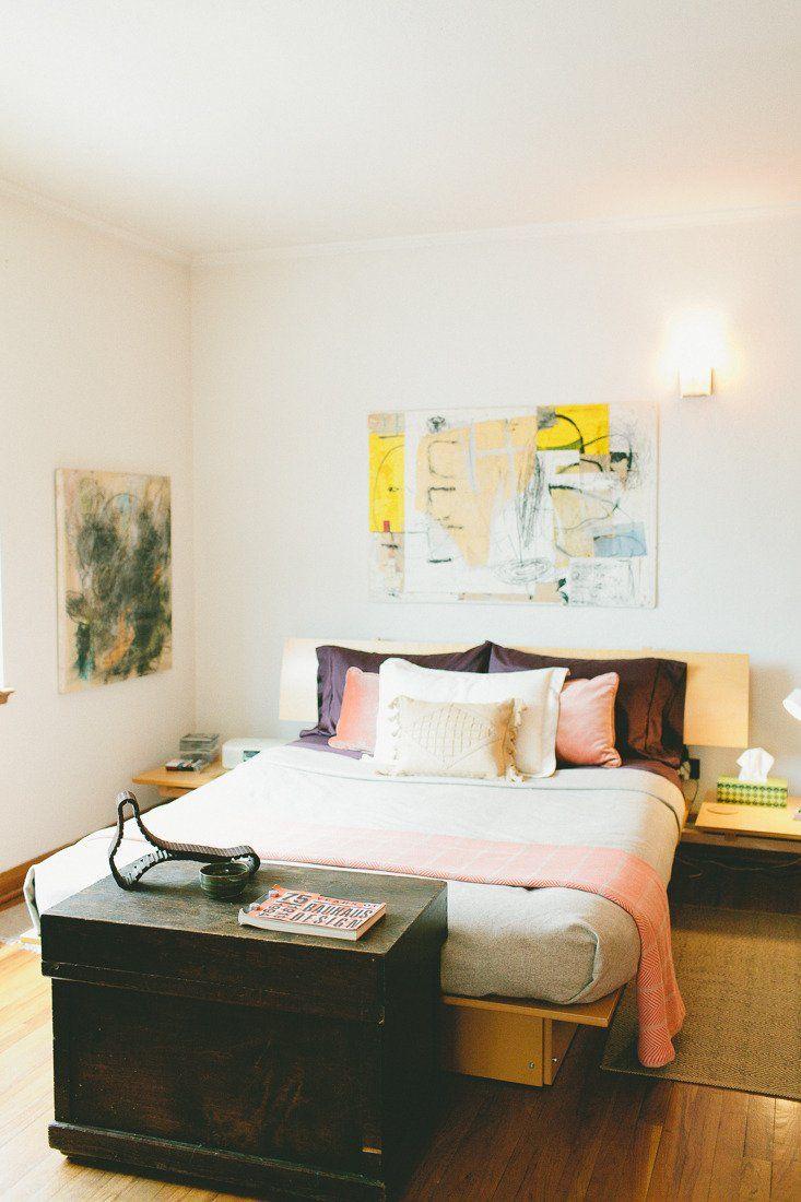 "Cara's ""Have Less, Live More"" Flat Bedroom decor, Design"