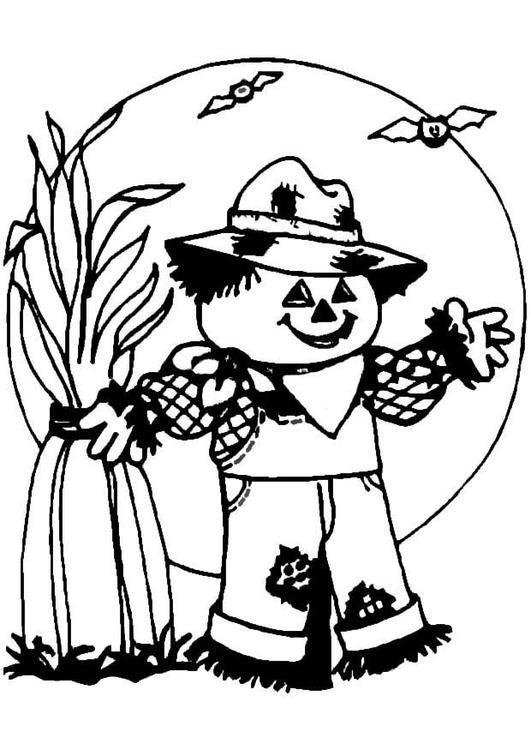 Espantapájaros | scarecrows | Pinterest | Espantapájaros, Colorear y ...