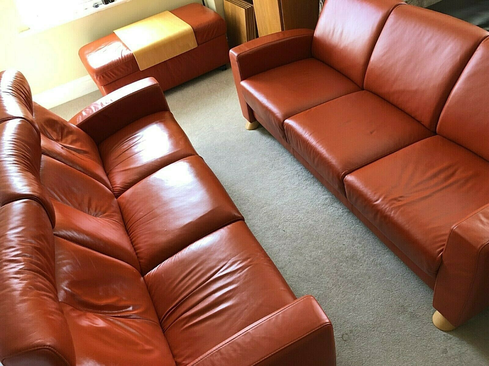 Ekornes Stressless Suite 3 Seater High Back Low