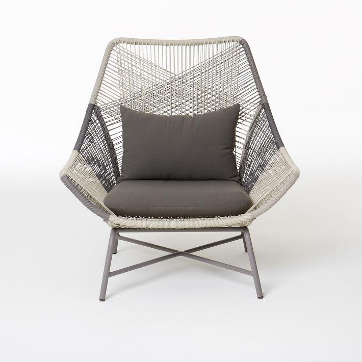 Huron Outdoor Lounge Chair Amp Cushion Avec Images Mobilier De Salon Mobilier Meuble Design