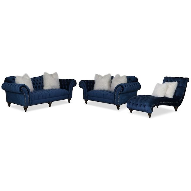 Best Brittney Sofa Loveseat And Chaise Sofa Furniture 400 x 300