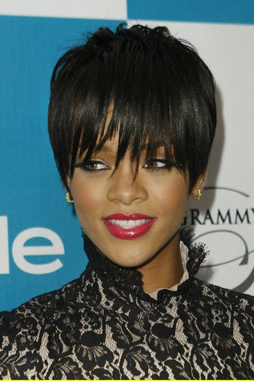 Outstanding 1000 Images About Rihanna Hair On Pinterest Short Hairstyles For Black Women Fulllsitofus