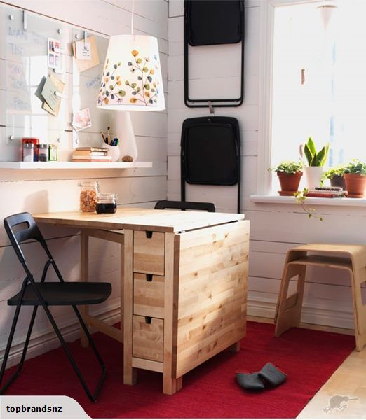 Ikea Norden Gateleg Table Birch Ikea Small Spaces Ikea Dining Room Tiny Dining Rooms