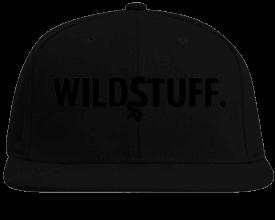 "WILDSTUFF ""Black"" SnapBack"
