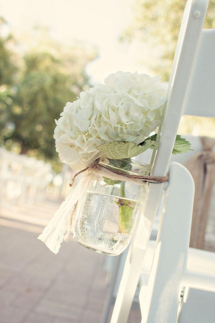 Hydrangeas | wedding chairs | Pinterest | Hydrangea