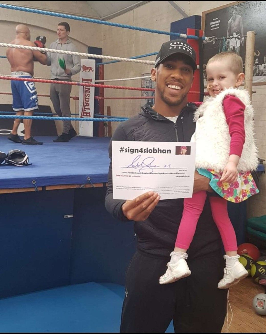 Pin by Tina on AJ (With images) Anthony joshua, Joshua