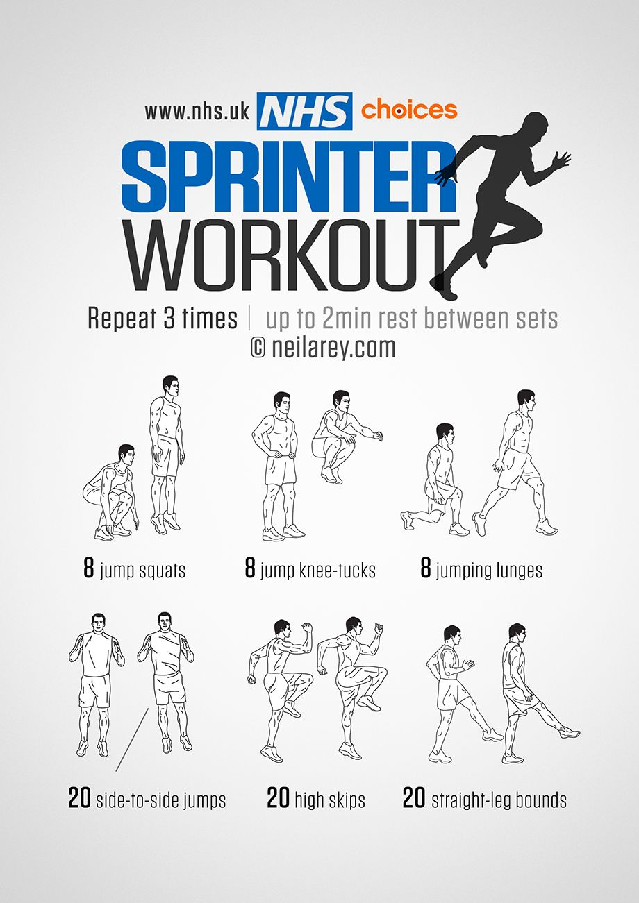 Sprinter workouts