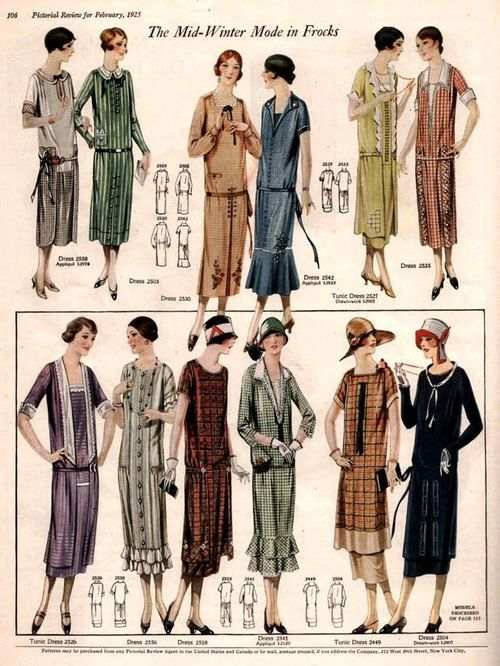 20s Fashion Dresses