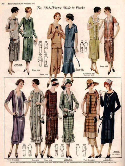 1920s winter fashion dresses amp clothing 1920s