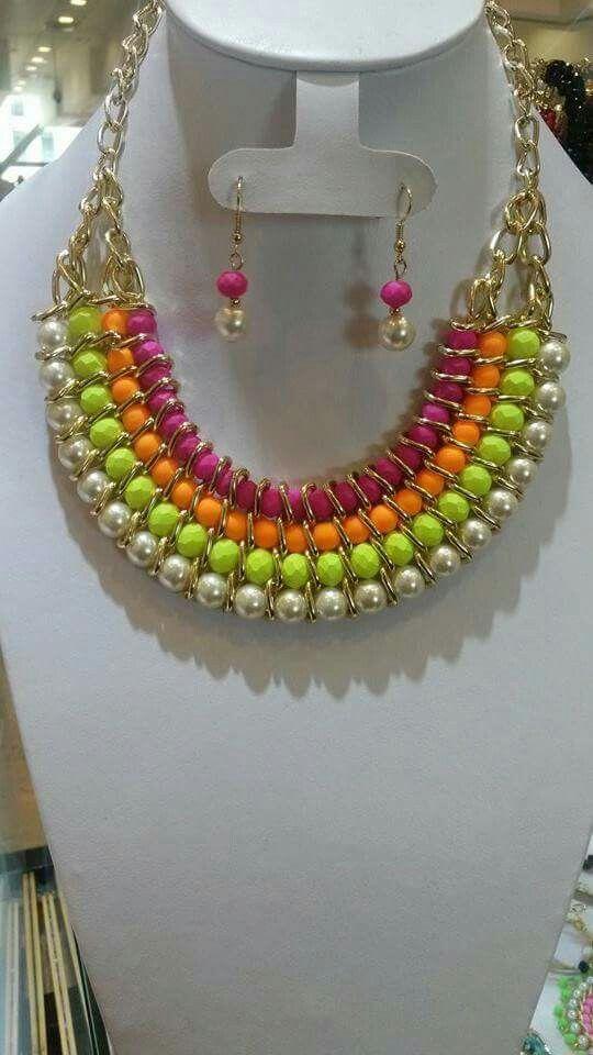 Pin de Anabelen Ramirez en collares | Bisuteria, Collar ...